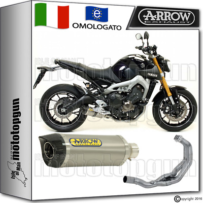 Arrow Kit Completo Hom Thunder Titanio Carby Yamaha Mt-09 2015 15 2016 16