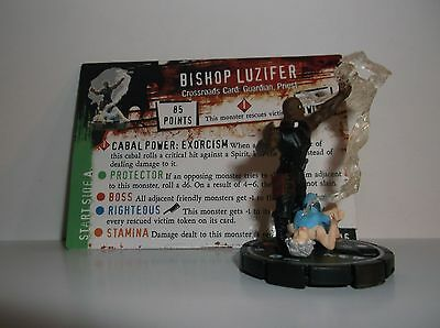 HORRORCLIX  Bishop Luzifer #096 Rare W/CARDS Base Set