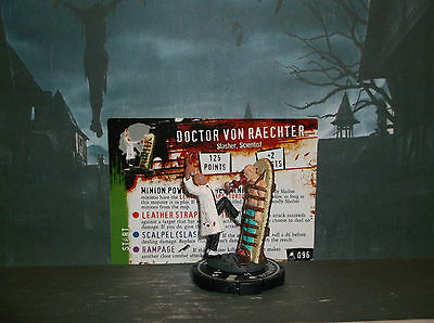 HORRORCLIX Doctor Von Reachter #096,Grey-Unique W/Card The Lab