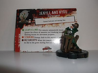 HORRORCLIX  Jekyll and Hyde #094 Rare W/CARDS Base Set