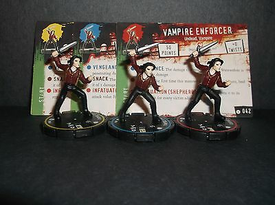 HORRORCLIX Vampire Enforcer R.E.V. Set of 3 miniatures #040, #041, & #042,