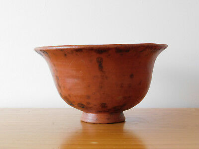 Ancient Greek Greece Large Pottery Redware Bowl
