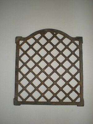 Cast Iron Ornate Arch Top Heat Grate Register vent