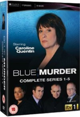 Caroline Quentin, Ian Kelsey-Blue Murder: The Complete Series 1-5  DVD NEUF