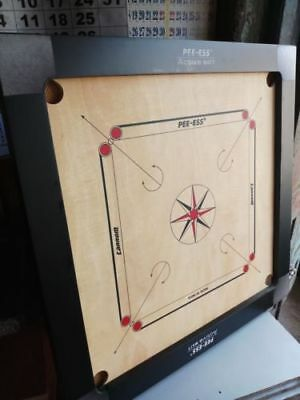 """29""""x29"""" full size tournament quality carrom board with carrom coin and striker"""