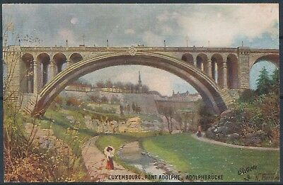 [AI2562] Luxembourg 1927 ART - Pont Adolphe TB carte postale