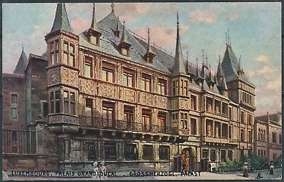 [AI2563] Luxembourg 1915 ART - Palais Grand-Ducal TB carte postale