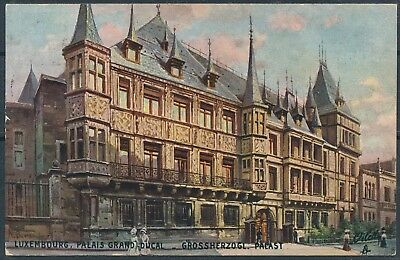 [AI2567] Luxembourg 1913 ART - Palais Grand-Ducal TB carte postale