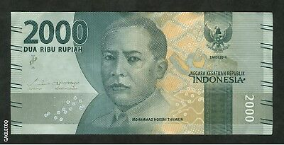 Indonesia - Bank  Of Indonesia 2000 Dua Ribu Rupiah  2016 Paper Money
