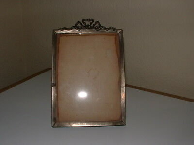 Antique Victorian Solid Brass Picture Frame