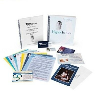 Hypnobabies Home Study Course 7th Edition Complete with MP3 Tracks + Birth Plans