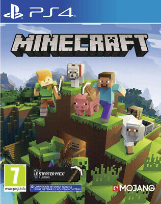 PS4 Game Minecraft: Playstation 4 Edition New Merchandise Playstation 4