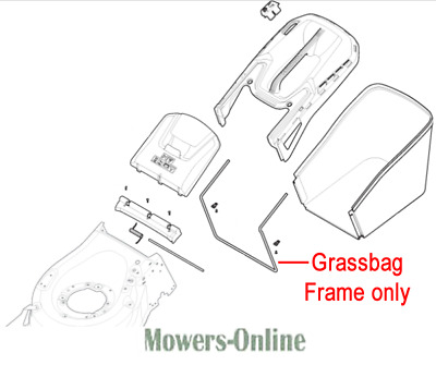 MOUNTFIELD SP485HW LAWNMOWER QUICK RELEASE HANDLE 381103350//0