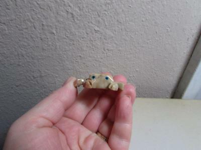 Crab, Solid stone Hand carved from the Andes of Peru, Miniature Dungeness Crab