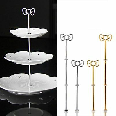 Cake Rack Birthday Celebration Three Tiers Bowknot Stand Cupcake Baking