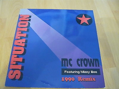 MC CROWN fest. Mizzy Bee - Situation      -Maxi-