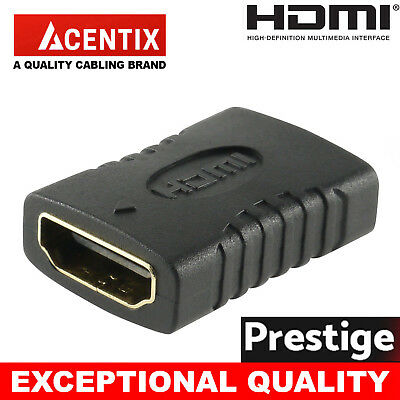 HDMI Extender Female To Female Coupler Joiner Connector Adapter 1080p ULTRA HDTV
