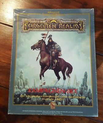 AD&D Forgotten Realms Box Kampagnen-Set 2nd Edition Advanced Dungeons & Dragons
