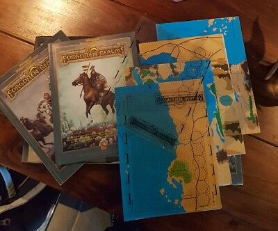 AD&D Forgotten Realms Kampagnen-Set 2nd Edition Advanced Dungeons & Dragons