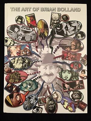 The Art of Brian Bolland Hardcover ARTIST PROOF Limited Edition of 300 SIGNED