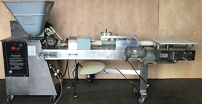 Am Manufacturing Scale-A-Bagel Divider/rounder/former Bagelmatic Model Sab-800