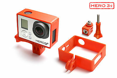 Frame Mount Tripod for GOPRO HD Hero 3+Black Accessories Adapter Red