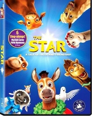 NEW: The Star (DVD, 2017) -Animation- PRE-ORDER SHIPS ON!!! 02-20-18