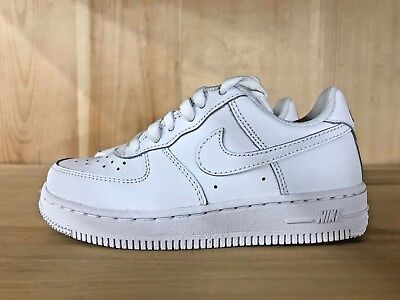df8706cde0f NIKE AIR FORCE Ones Low women White US Shoe Size 4 (Youth) 314192 ...