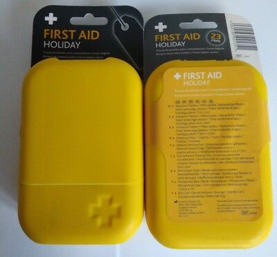 first aid kit Reliance medical holiday kit joblot of 60 camping travel
