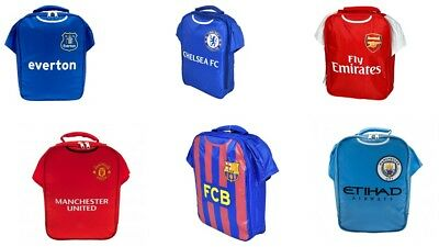 Official Football Club Kit Lunch bag Sandwich box Kids School Lunch box Arsenal