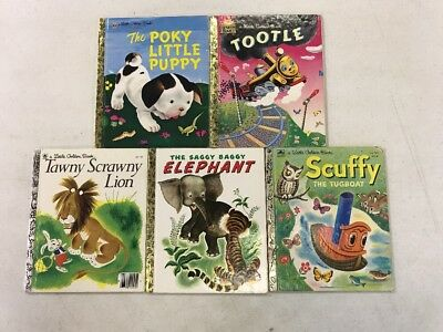 Little Golden Books Classic Characters Popular Children S Books