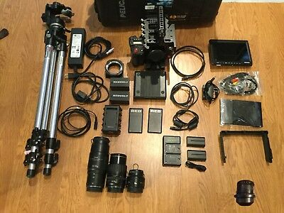 Red Epic X 5K Camera W/ Lots Of Extras, Huge Bundle, Cage, Tripod