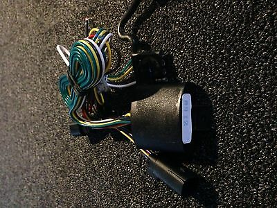 harley davidson trailer hitch wiring harness plug and play flh 14-up