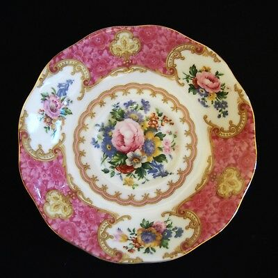 Royal Albert LADY CARLYLE Bone China Saucer Made in England GREAT SHAPE!