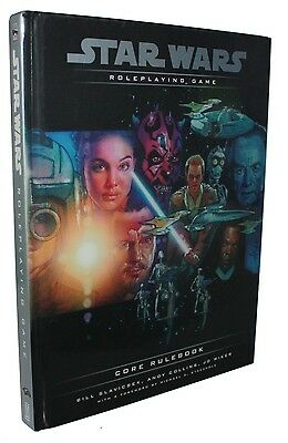 Star Wars-Core Rulebook-Roleplaying Game-Supplement-RPG-very rare