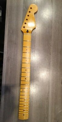 Start Neck, Hals , Canadian Maple, 22 Frets NEU, Replace