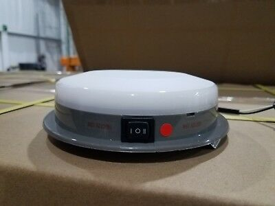 SoundOff Signal ECVDMLTALDC  White LED Dome Light with Red LED Night
