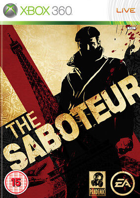 The Saboteur ~ XBox 360 Game (in Good Working Condition)