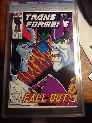 Transformers #77: Fall Out-Nm
