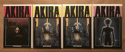 Akira Lot Of Four - 1, 2, 2(2nd Print), 3