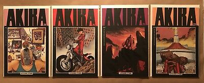 Lot Of Four Akira Comics #'s 24, 25, 26, 27