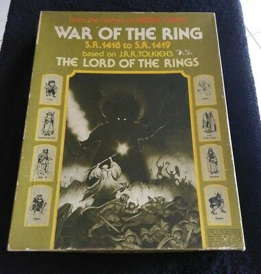 War of the Ring Boardgame Designers Edition 1977 (SPI) Long OOP