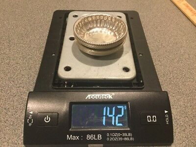 Various Sterling Silver Nut Dish Lot (7) - 142 Grams