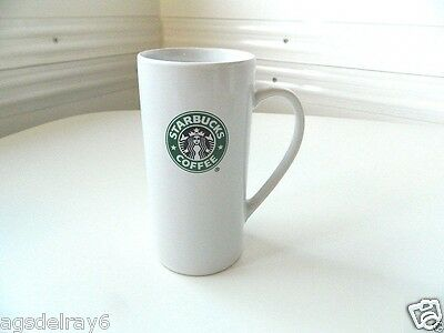 STARBUCKS*COFFEE MUG*2008*14 FL.oz.*TALL*WITH PRINTED MERMAID LOGO*