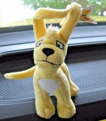 McDonalds Neopets Yellow Gelert Plushie w Star & Tush tags 2005 Toy Dog