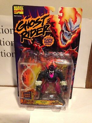 Marvel Comics Ghost Rider Vengeance  Action Figure Toy-Biz MOC 1995