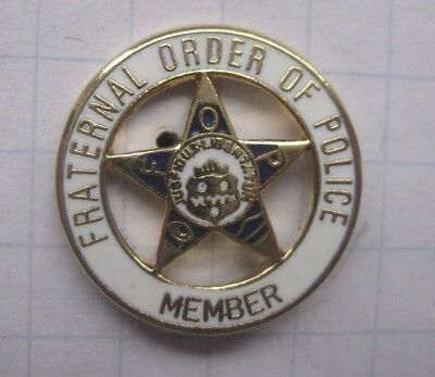 FRATERNAL ORDER OF POLICE / USA................. Polizei Pin (138c)