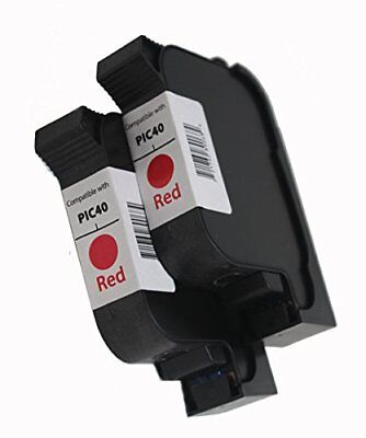 FP PIC40 High Capacity Postbase Ink Cartridge Set. 90 DAY Warranty! Compatible w