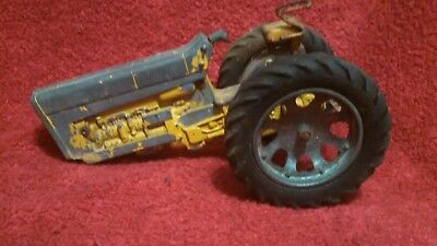 Vintage 1960's Tru Scale Yellow Die-Cast Farm Tractor Toy Parts