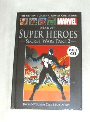 Secret Wars Part 2 - Marvel Ultimate Graphic Novel Collection issue 40 NEW